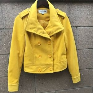 Yellow Coat - Forever 21